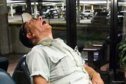 Спящий американец