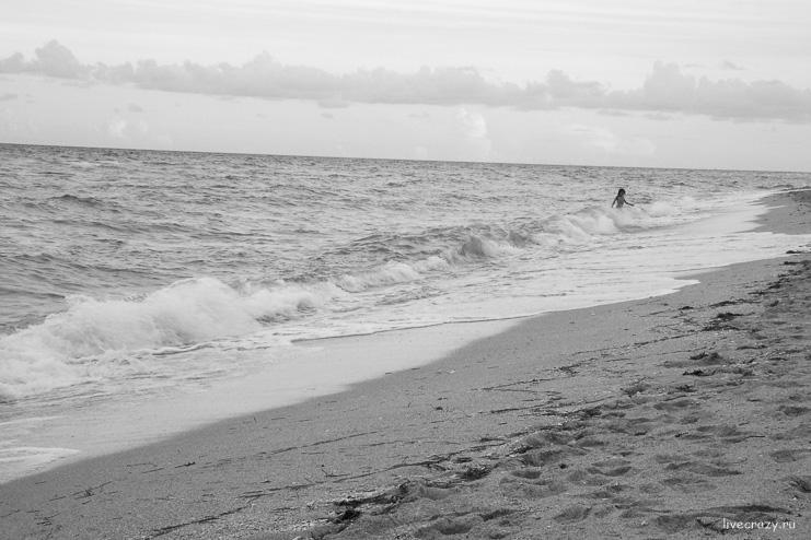 Пляж на Sunny Isles