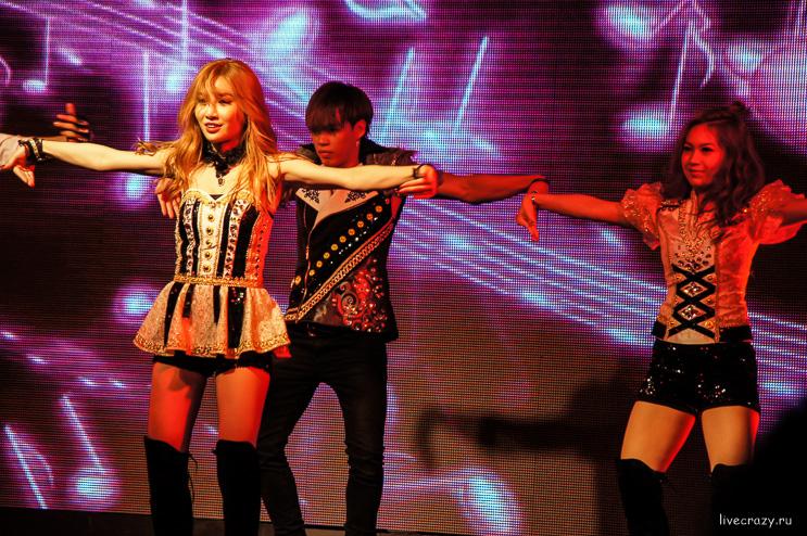 Концерт Корейской группы